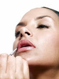 Hispanic makeup. Royalty Free Stock Photos