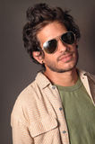 Hispanic male beauty Stock Images