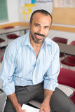Hispanic Male Teacher Royalty Free Stock Images