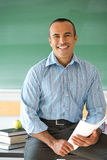 Hispanic Male Teacher Royalty Free Stock Photography