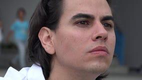 Hispanic Man, Latino Male, Adult stock video
