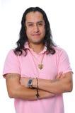 Hispanic man Smiling Royalty Free Stock Photography