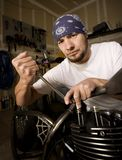 Hispanic Mechanic Stock Photography