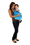 Hispanic Mother and Daughter Stock Photo
