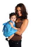 Hispanic Mother and Daughter Stock Photos
