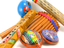 Hispanic Musical Instruments Royalty Free Stock Photo