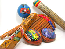 Hispanic Musical Instruments Royalty Free Stock Photos