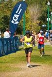 Hispanic Norcal Marathon Runner Stock Photo