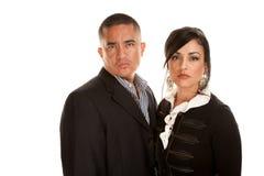 Hispanic professional couple Royalty Free Stock Image