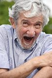 Colombian Adult Male Under Stress. A hispanic senior adult male Stock Images