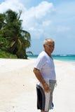Hispanic Senior Man Stock Image