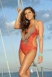 Hispanic Swimsuit Model Stock Images