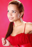 Hispanic teen Stock Photography