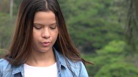 Hispanic Teen Girl Dancing stock footage