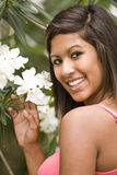 Hispanic teenage girl Royalty Free Stock Photography
