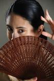 Hispanic woman Stock Image