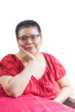 Hispanic Woman Diagnosed With Breast Cancer Stock Photography