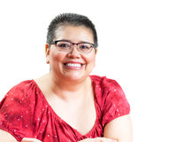Hispanic Woman Diagnosed With Breast Cancer Royalty Free Stock Photo