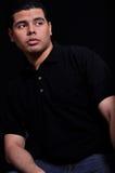Hispanic young man Stock Photography