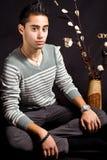 Hispanic young man Royalty Free Stock Photos