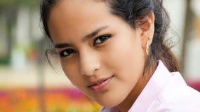 Hispanic Youthful Teenager Royalty Free Stock Images