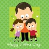 Hispanico feliz del día de padre