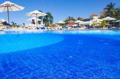 Hispaniola wyspy, republika dominikańska, Hotelowy Uroczysty seledyn Bahia Principe, 12 07 2018 fotografia stock