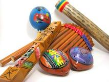 Hispanische Musikinstrumente Lizenzfreie Stockfotos