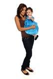 Hispanische Mutter und Tochter Stockfoto