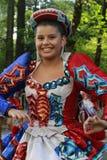 Hispanische Tagesparade in New York Lizenzfreies Stockbild