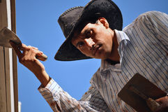 Hispanischer Immigrant Lizenzfreies Stockfoto
