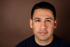 Hispanischer Mann Stockfotos