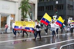 2016 Hispano-Amerikaner-Tagesparade in New York Lizenzfreie Stockfotos