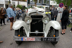 Hispano-Suiza H6B. BERLIN - MAY 28: The Hispano-Suiza H6B Million-Guiet Dual-Cowl Phaeton 1924, the exhibition 125 car history - 125 years of history Stock Photo