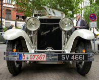 Hispano-Suiza H6B. BERLIN - MAY 28: The Hispano-Suiza H6B Million-Guiet Dual-Cowl Phaeton 1924, the exhibition 125 car history - 125 years of history Royalty Free Stock Photos