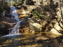 Hisperous Colorado Waterfall Gorgeous stock images