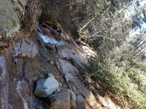 Hisperous Colorado Waterfall River stock photos