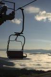 Hiss i bergen Royaltyfri Fotografi