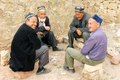 Hissar山,乌兹别克斯坦,亚洲 库存照片