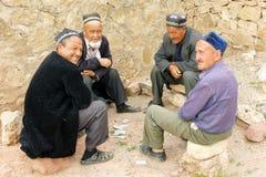 Hissar berg, Uzbekistan, Asien Arkivfoton
