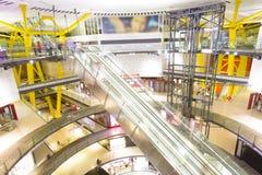hissar, exponeringsglas och metall Arkivfoton