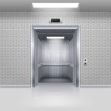 Hissdörrar Arkivbilder