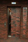 Hisselevator i arkivet Royaltyfri Foto