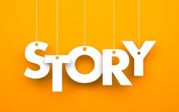 história Imagens de Stock