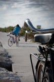 A história da bicicleta Fotografia de Stock
