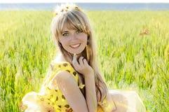 A história da princesa solar fotos de stock