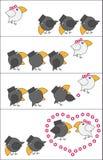 História de amor Ilustração Stock