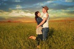 História de amor Foto de Stock Royalty Free