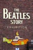 A história de Beatles, aberta desde maio 199 Imagem de Stock Royalty Free