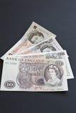 História de dez Ingleses da libra imagens de stock royalty free